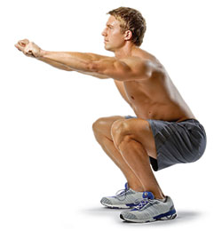 leg exercises without weights pdf